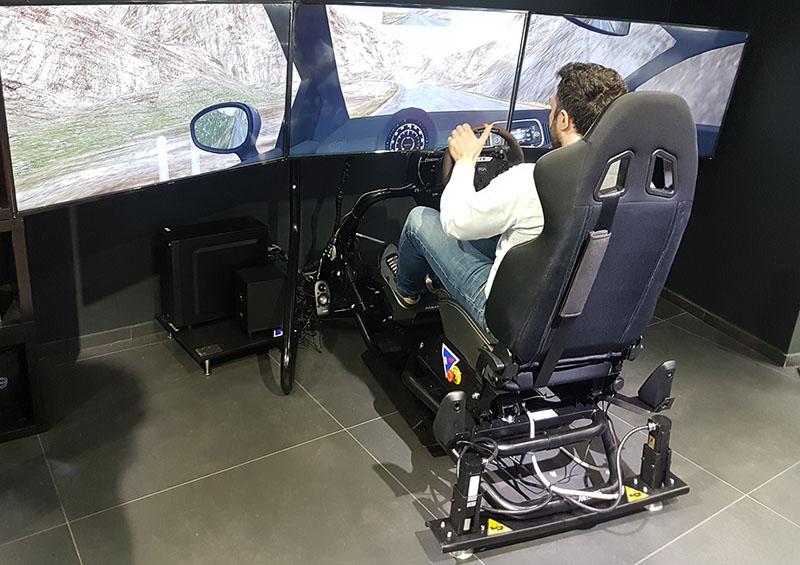 Simulatore E-Motivesim by ARC-Team Engineering