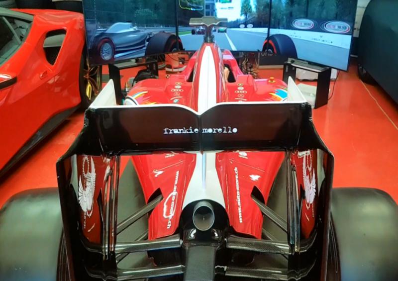 Simulatore Adrenasim Formula A75 by ARC-Team Engineering in Action