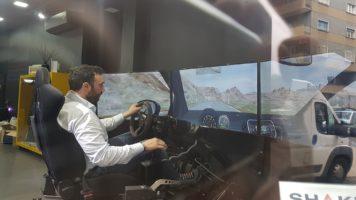 simulatore dinamico professionale GT Brainsim