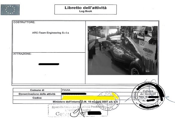 Certificazione Ministeriale con Registrazione Comunale