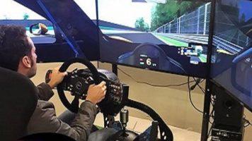 Simulatore Rally Brainsim Gt in Azione
