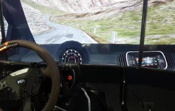 Simulatore Rally in Azione