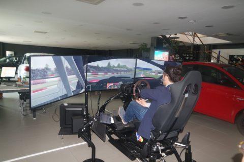 Simulatore rally Professionale Brainsim Gt