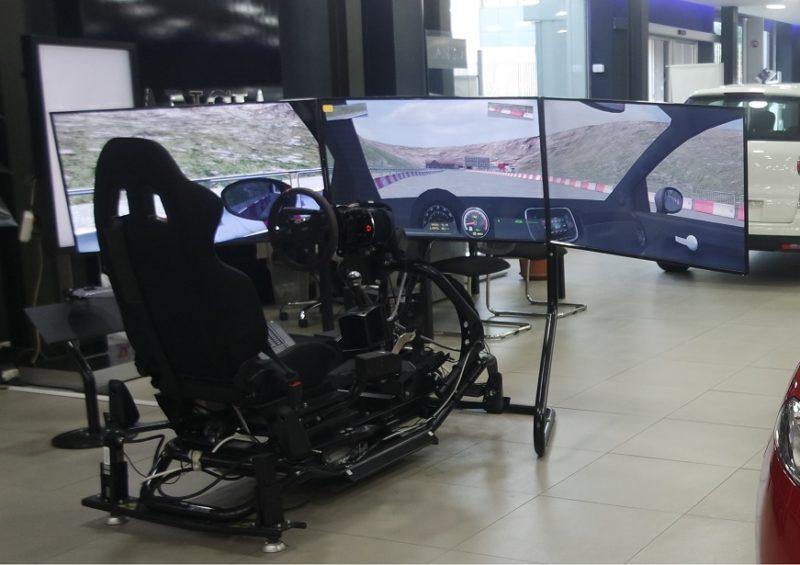 Simulatore Rally Professionale Dinamico Brainsim Gt