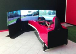 Simulatore di guida dinamico professionale Brainsim Formula