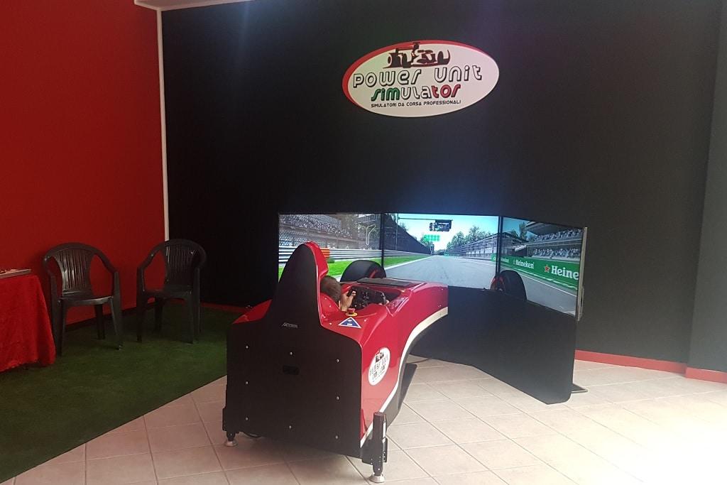 Simulatore di guida dinamico Brainsim Formula