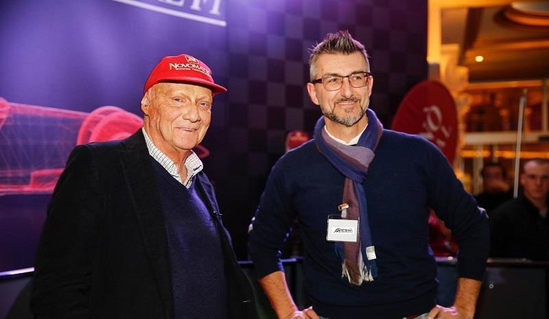 Fondatore Arc Team e Niki Lauda