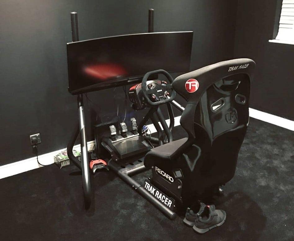Postazione simulatore di guida
