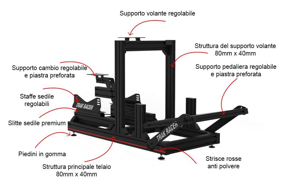 trak racer tr80 caratteristiche