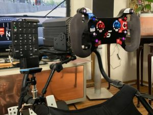 volante sim racing professionale pc