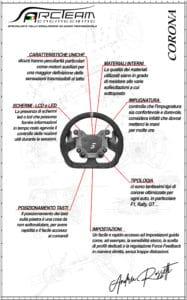infografica volante sim racing simagic m10
