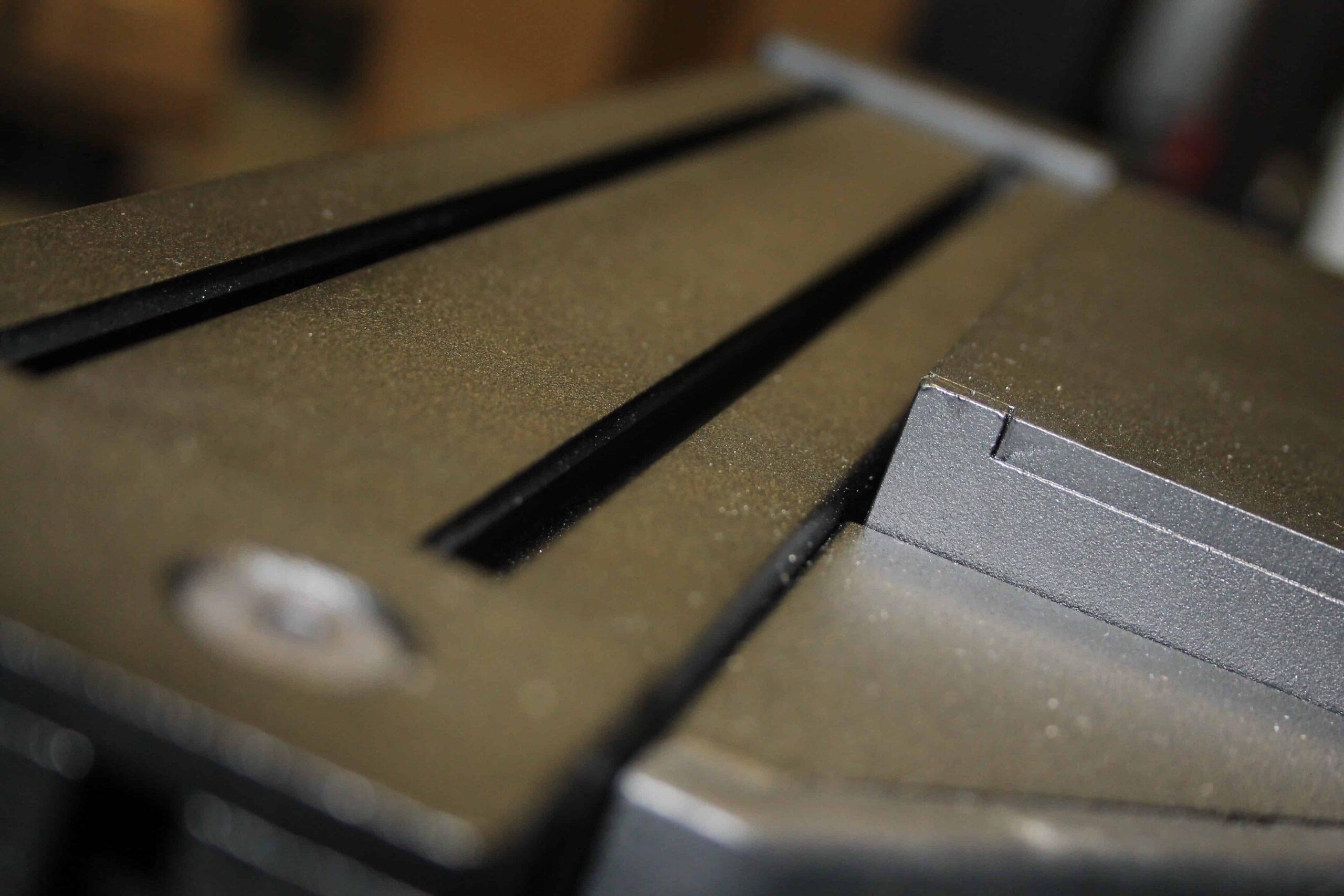 verniciatura epossidica postazione guida profilati alluminio
